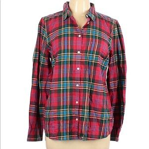 J.Crew Mercantile Flannel Shirt Sz L NWT
